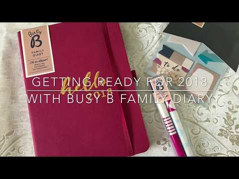Get organised with the clever Busy B Family Diary