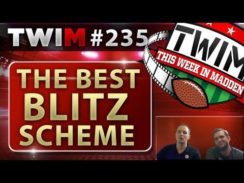 Madden 18 Gameplay | The BEST Blitz in Madden 18 | Nickel 335 Wide | Madden 18 Tips