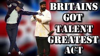 Britains Got Talent - Suleman Mirza MICHAEL JACKSON Tribute (ALL performances)
