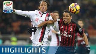 Milan - Cagliari - 1-0 - Highlights - Giornata 19 - Serie A TIM 2016/17