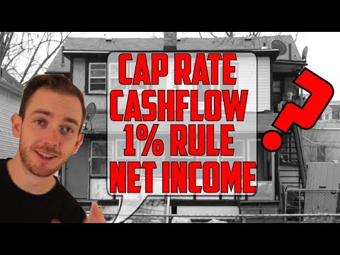 What is a Cap Rate? Breaking Down Real Estate Investor Terms - Cashflow, Net Income, 1% Rule