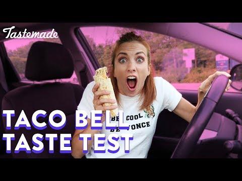 Taco Bell Secret Menu Taste Test | Julie's Drive Thru