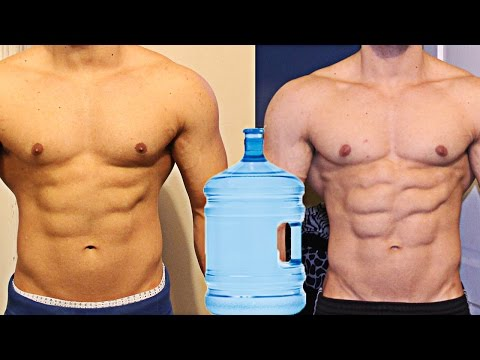 How to lose water weight naturally to look leaner