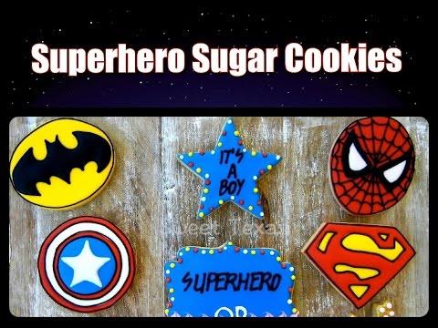 SUPERHERO SUGAR COOKIES - SWEET TEXAS
