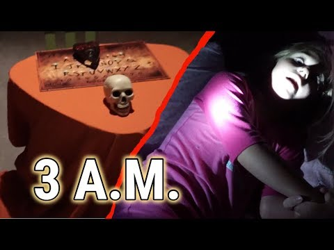 The Scariest 3AM Video EVER!  Little Girl Gets Freaked Out!