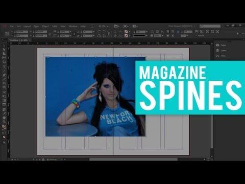 Prepping Magazine Spines in InDesign // MAGAZINE DESIGN