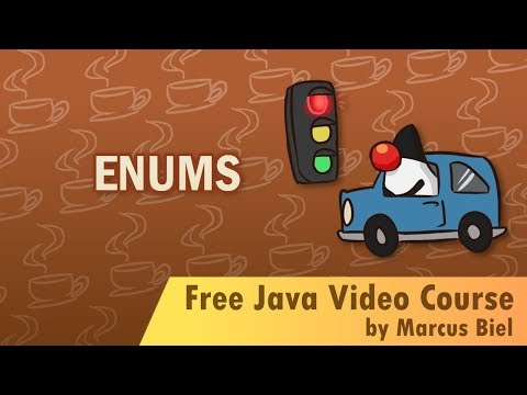 Java for Beginners 11 - enums and switch statement