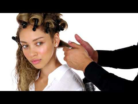 How to Create Hollywood Glam Waves for Curly Hair - Hair Tutorial - Paul Mitchell