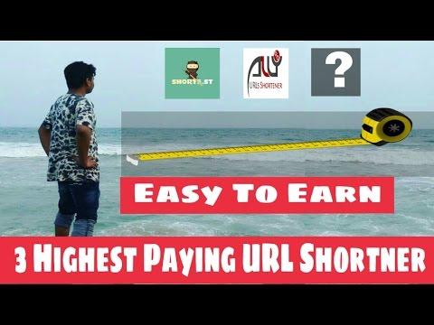 3 Highest Paying URL Shortner || Earn Money with URL Shortner