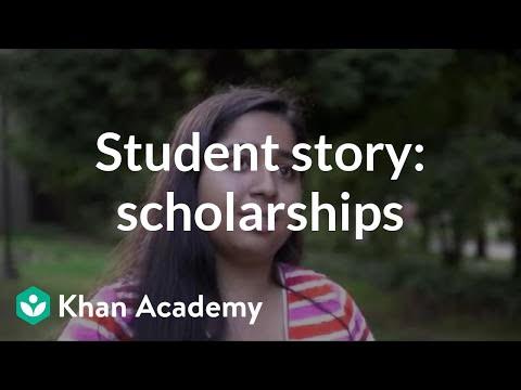 Student story: Applying for scholarships