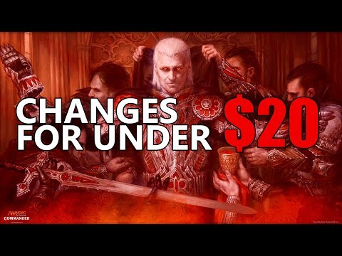 How to Improve Vampiric Bloodlust - Edit your deck for under $20!! (MTG Commander 2017)