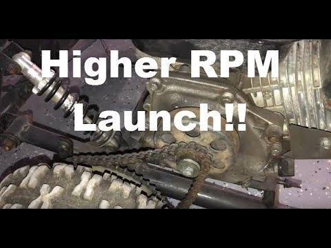Go Kart Clutch Adjustment For Higher RPM