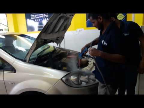 Steam wash linea at scan auto spa rohini
