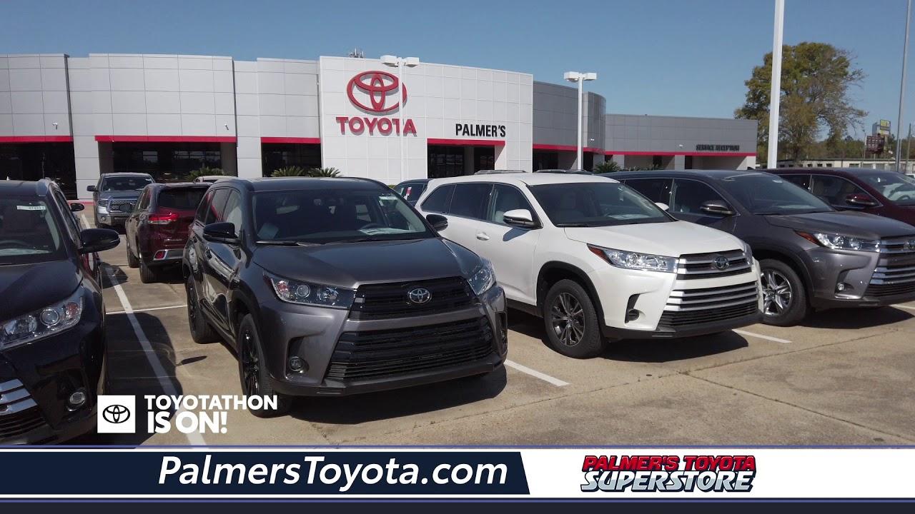 Palmer's Toyota - Toyotathon - New Specials - Mobile, AL