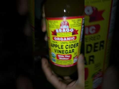 Pink eye ingredient. Apple vinegar cidar.