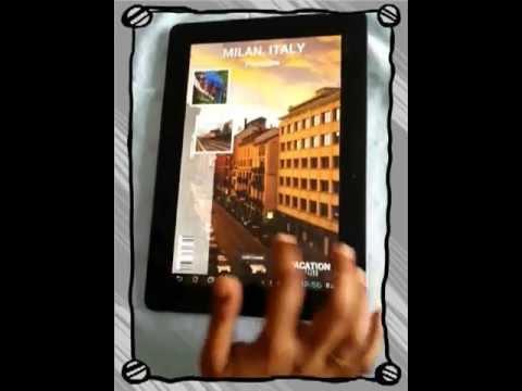 Photozine - Magazine styled photo viewer android app