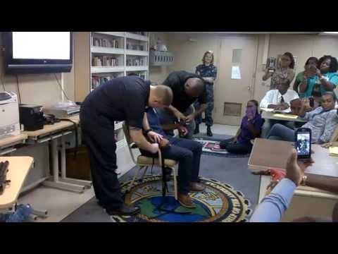Restraining a Psychiatric Patient (Demo)