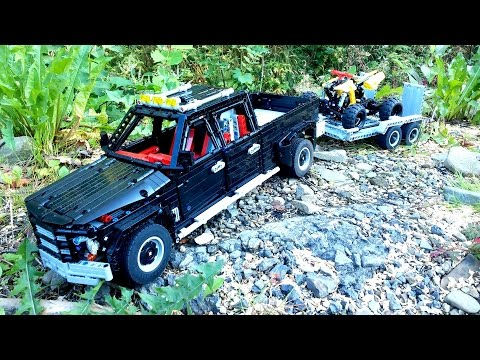 LEGO TECHNIC Pick-Up With Trailer And Quad Bike
