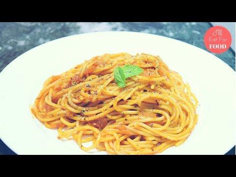 Classic Tomato Spaghetti │Episode 071 │ I'll Eat For Food