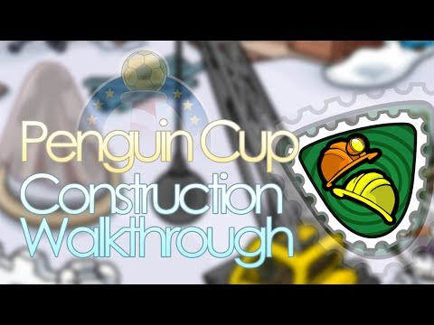 Club Penguin - Penguin Cup - Construction Stamp Guide