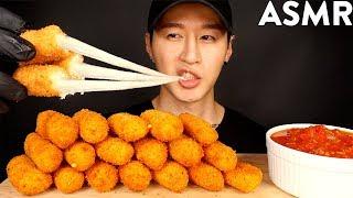 Download ASMR MOZZARELLA CHEESE STICKS MUKBANG (No Talking) COOKING & EATING SOUNDS | Zach Choi ASMR Video