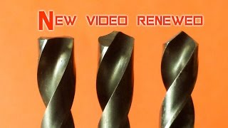 How to repair and sharpening drill bits,  sharpen drill bits for metal