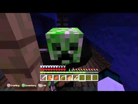 Minecraft  Episode 1 roleplay herobrine /  zombie