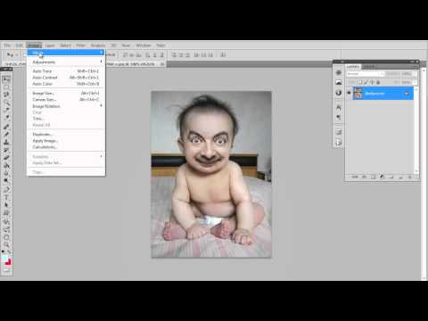 How to Make a Picture Black and White in Adobe Photoshop CS5 (HD)