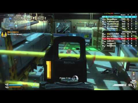 Call of Duty Ghosts - TDM - Sovreign (12/22/2013) - (75-68) -