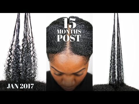 Transitioning To NATURAL HAIR (15 Months Post Relaxer) (Hair Update) (Jan 2017)