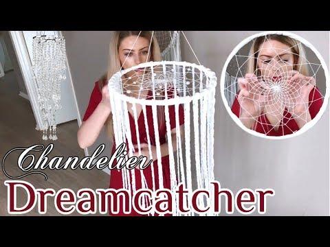 DIY Mobile Chandelier Dreamcatcher Tutorial