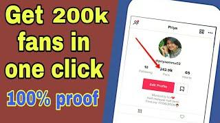 Tik Tok Followers Hack 2019 ✅ - Get Free Follower & Fans on TikTok