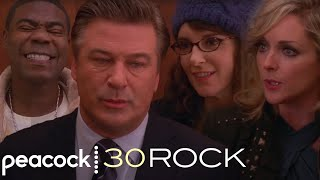 30 Rock - Liz, Jack, Tracy and Jenna Discuss Their New Year