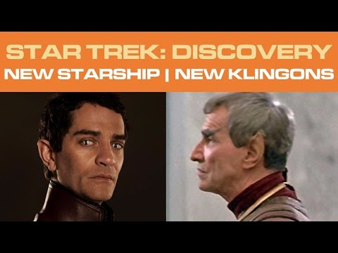 Star Trek: DISCOVERY - NEW Starship | NEW Klingons (Part 1/2)