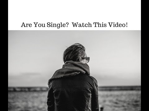Are you single?  Watch this video for tips on attracting love in your life