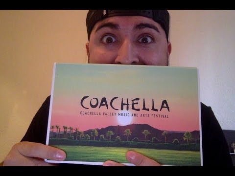 2017 Coachella Weekend 1 Pass Package Unboxing