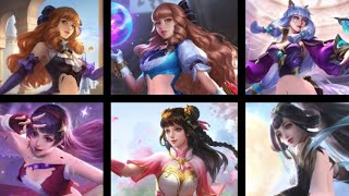 Redrawn - All Guinevere Skins - Mobile legends