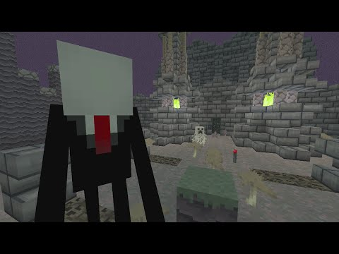 Minecraft (Xbox 360) - Haunted Hollows - Slender Man (2)