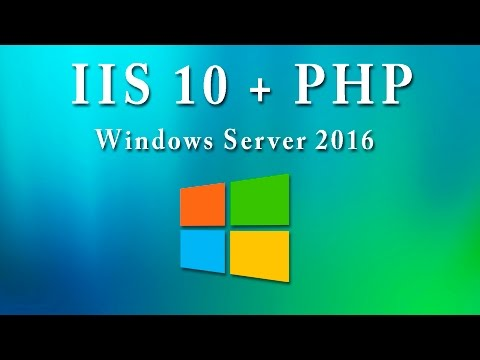 Instalar y configurar PHP 7 para Internet Information Services 10 (IIS) en Windows Server 2016