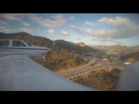 CRAZY! Flying into St. Barth's Airport