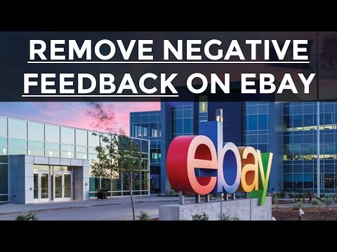 How To Remove Negative eBay Feedback (eBay Feedback Revision)