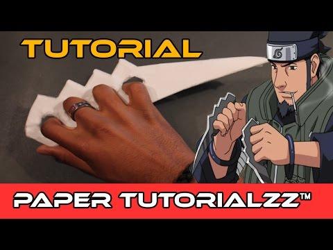 How To Make a Paper Karambit Naruto-style (Tutorial)