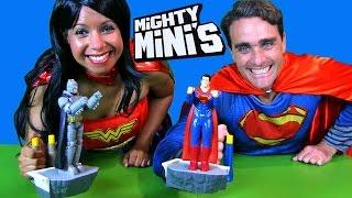 Superman v Batman Mighty Minis + Rock'Em Sock'Em Robots! || BlindBagShow Ep31 || Konas2002