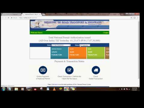 Online Payment of National  Permit /Check National Permit Online[HINDI ][TOP RATED]