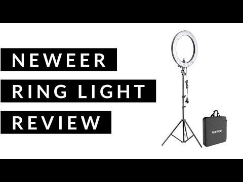 Neewer Ring Light Review