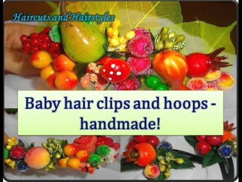 Master Class | Baby hair clips and hoops - handmade!