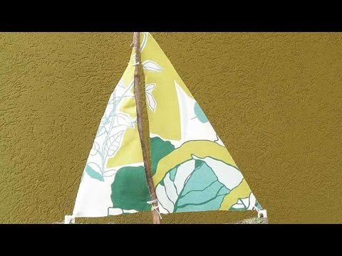 How To Make A Wood Trunk Sail Boat - DIY Home Tutorial - Guidecentral