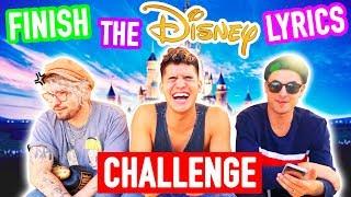 Finish The DISNEY Lyric Challenge! (ft Kian & JC)