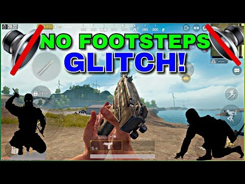 NO FOOTSTEPS SOUND GLITCH IN PUBG MOBILE! BECOME A NINJA!!   PUBG MOBILE