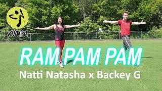 RAM PAM PAM by Natti Natasha ft Becky G   Zumba   Pop Music 2021   Dance Workout   Dance Fitness